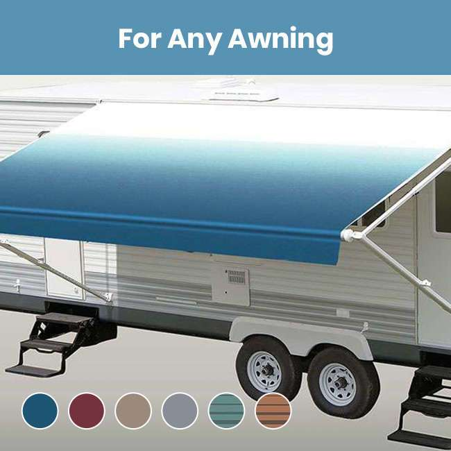 RV Patio Awning Replacement Fabric - RV Awnings Mart (574 ...