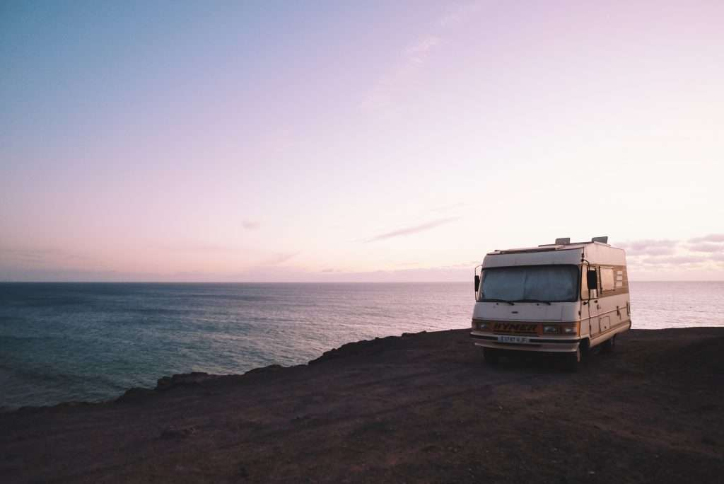 boondocking by the ocean